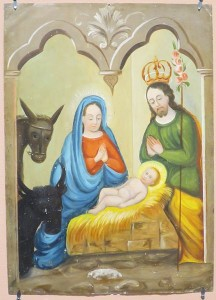 432px-'The_Nativity_of_Christ',_anonymous_Mexican_retablo,_oil_on_tin,_late_19th_century,_El_Paso_Museum_of_Art